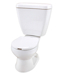 Gerber 21-601 PeeWee Two Piece Toilet - 10-inch Rough-In