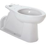 Gerber - BOWL HDCP FLOOR MT BACK OUTLET