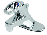 Gerber 40-524 Gerber Hardwater 1 handle Lavatory Faucet W/ Metal Pop-Up Drain 1.5gpm (Chrome)