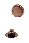 Gerber - DRAIN TRIM KIT LIFT&TURN - OIL RUBBED BRONZE