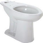 Gerber HE21872 - Avalanche/Viper 1.28 ADA Compact Elongated Bowl White